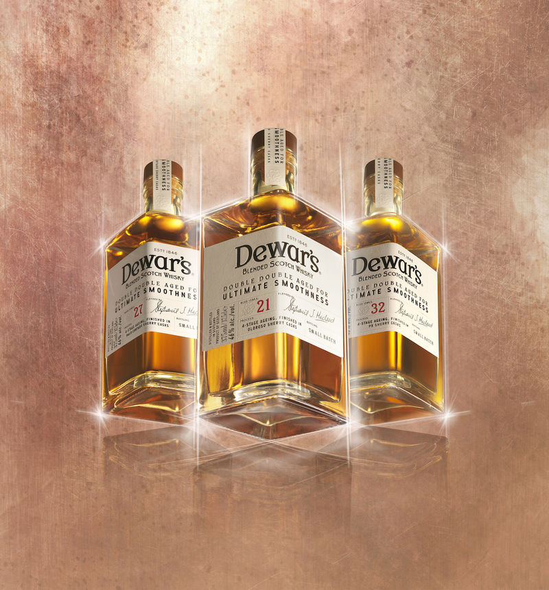 Quadruple-Aged Whisky Spirits