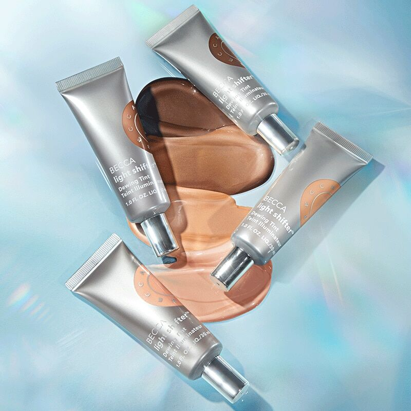 Ultra-Dewy Tinted Moisturizers - Becca's Light Shifter Dewing Tint Provides Instant Moisture (TrendHunter.com)