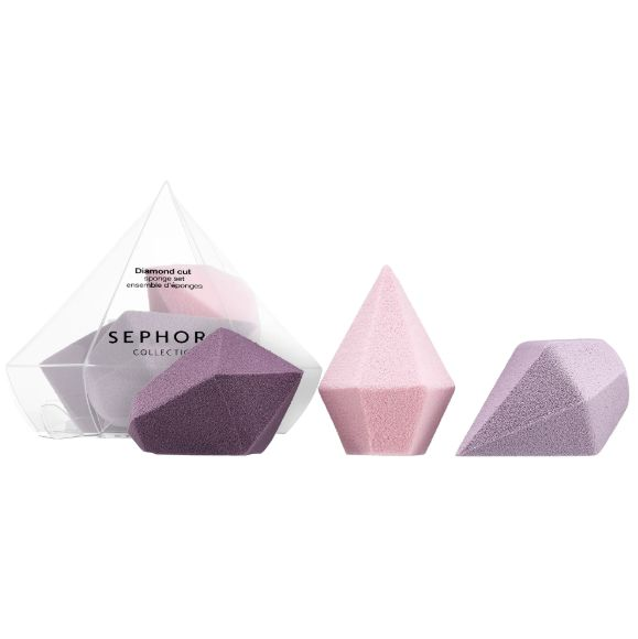 Diamond-Shaped Makeup Sponges