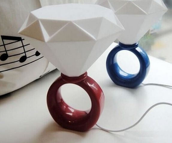 Gigantic Jewelry Lamps