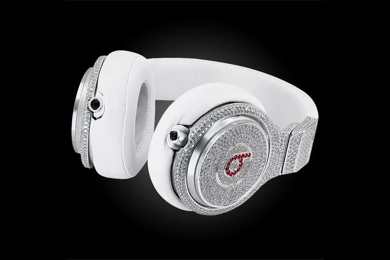 Diamond-Encrusted Headphones