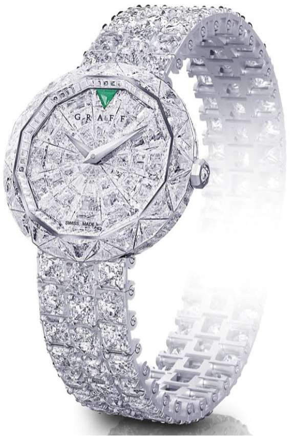 Glittery Timepieces