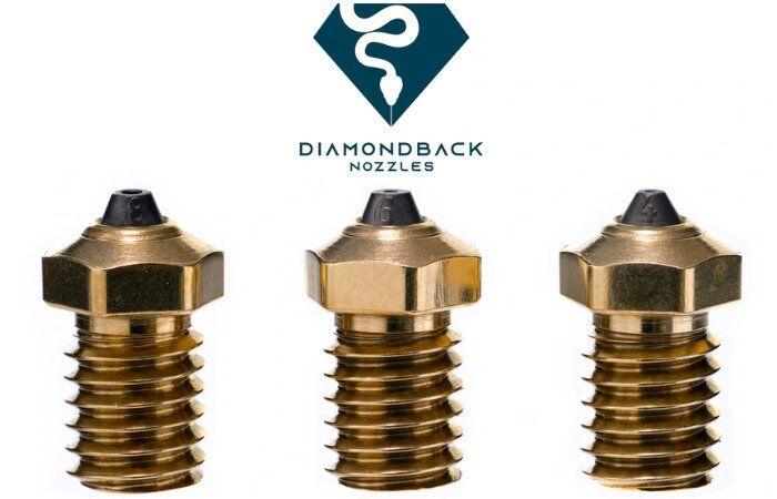 Diamond-Made 3D Printer Nozzles