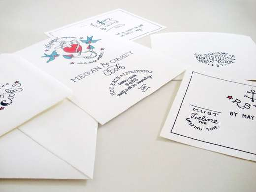 Tattooed Invitations