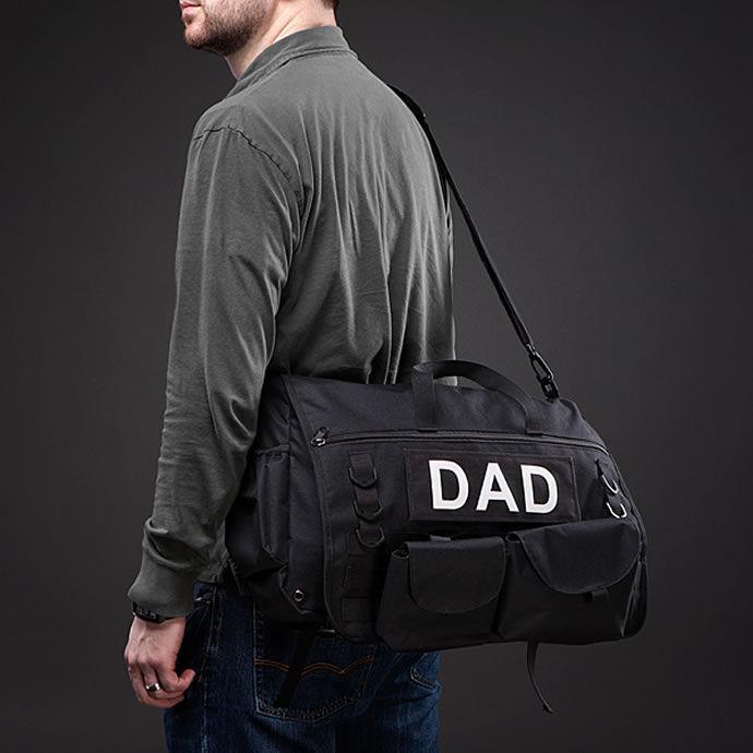 Militaristic Diaper Bags