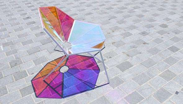 Stained Glass Chairs