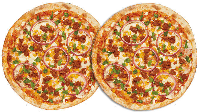 Savory Chorizo-Topped Pizzas