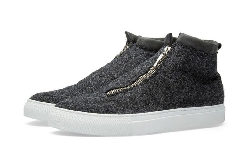 Slip-On Tweed Footwear