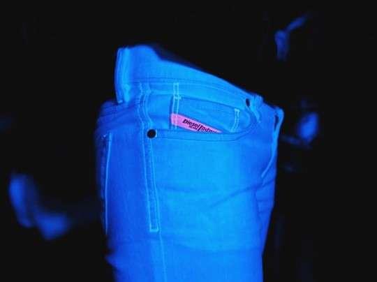 Glow-in-the-Dark Denim