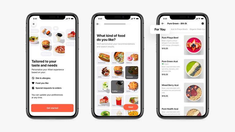 Customized Dining Platforms