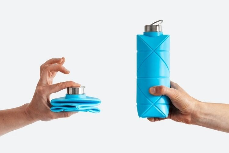 Collapsible Origami Hydration Containers