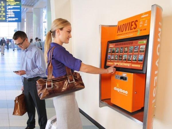 Airport Movie Kiosks