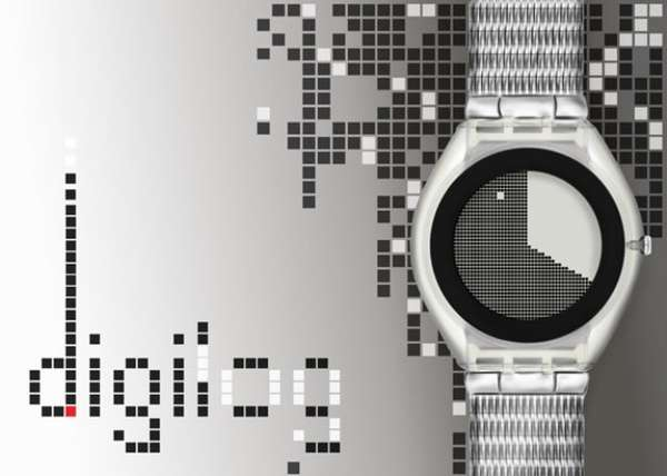 8-Bit-Influenced Wristwatches