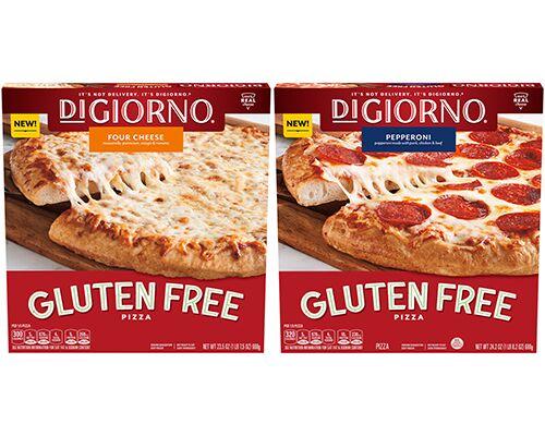 Frozen Gluten-Free Pizzas