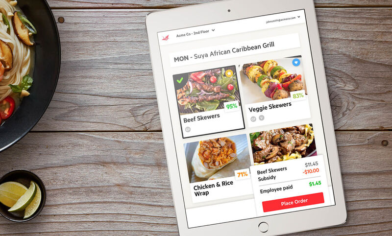 App-Based Digital Cafeterias