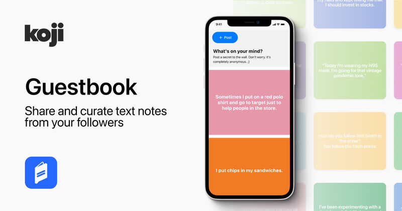 Curated Digital Guestbook Apps