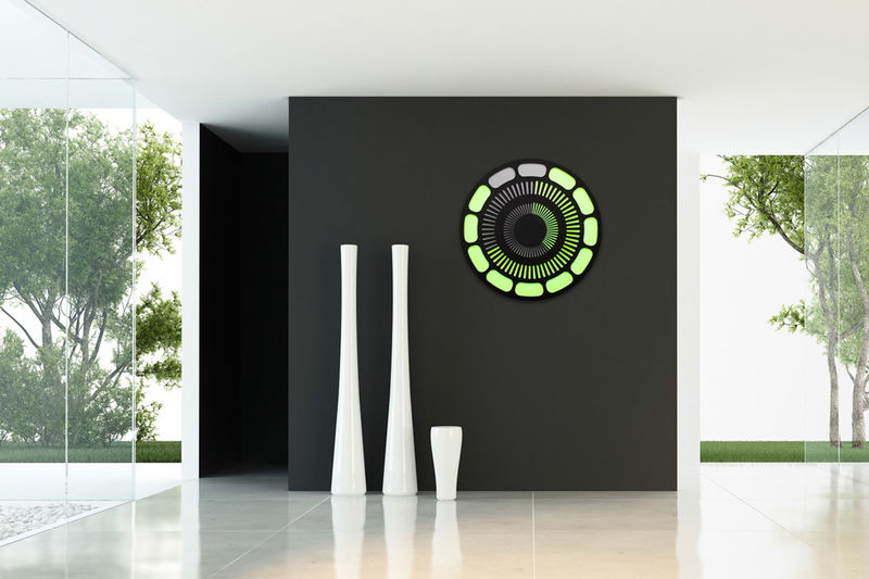 Digital Kinetic Artwork Clocks