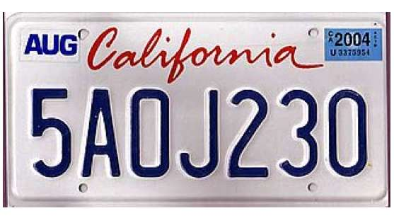 ubiquitous auto ads digital license plates in california. Black Bedroom Furniture Sets. Home Design Ideas