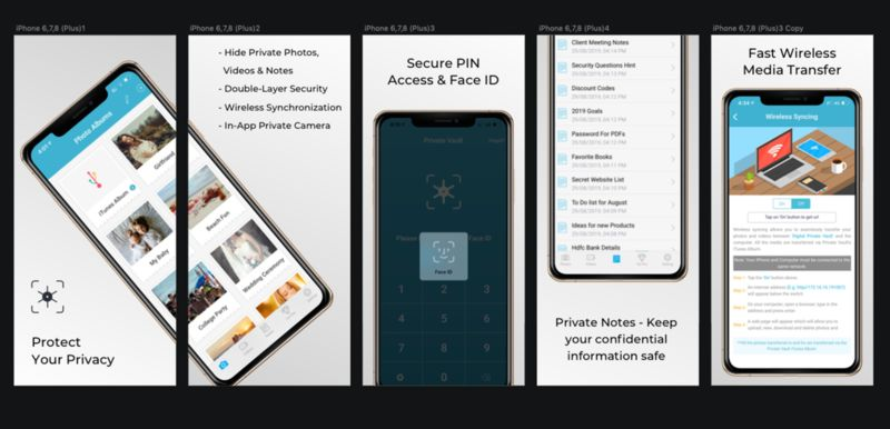 Encrypted Privacy Apps