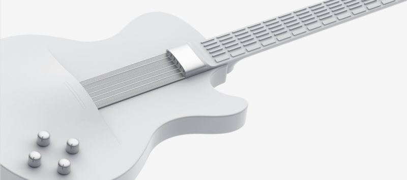 Bluetooth-Connected Digital Guitars