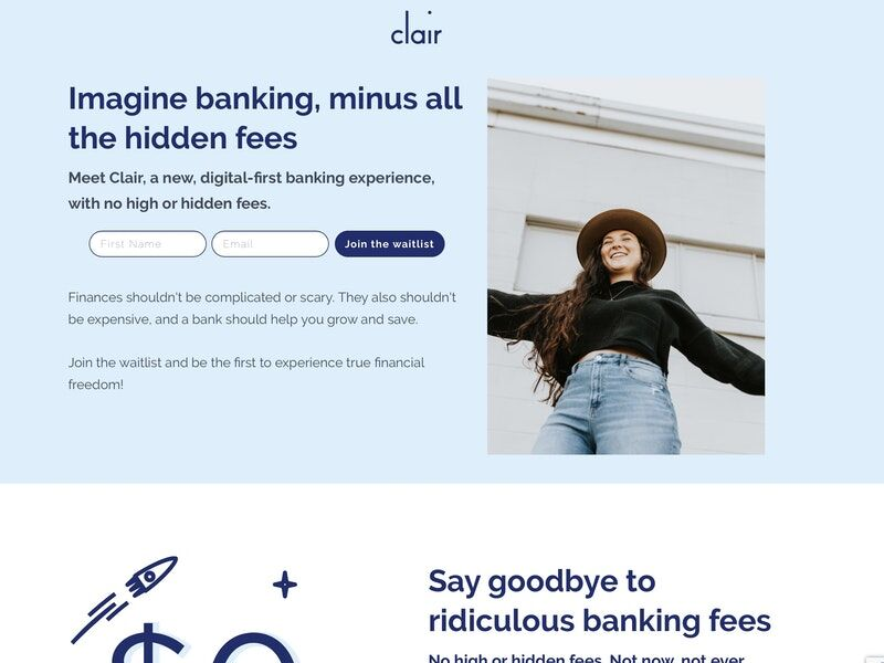 Hidden Fee-Free Banking Services