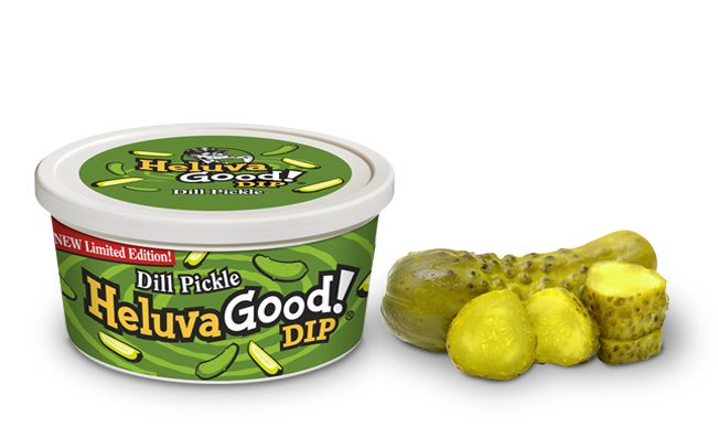 Sour Dill Pickle Dips
