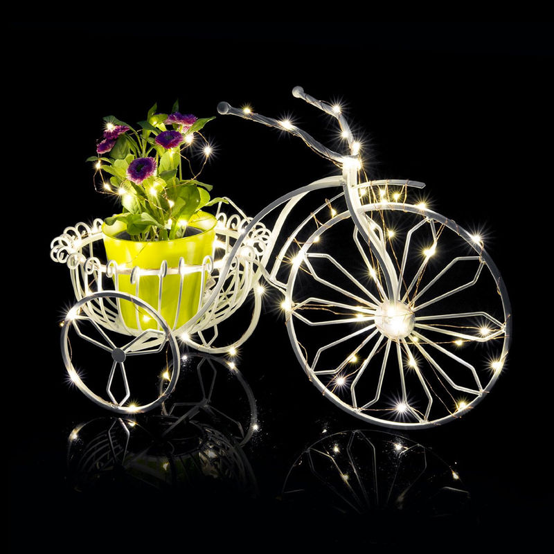 Programmable Holiday Lights : Dimmable LED String Lights