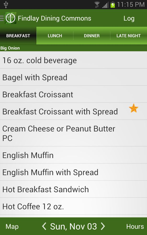 Campus Menu Apps