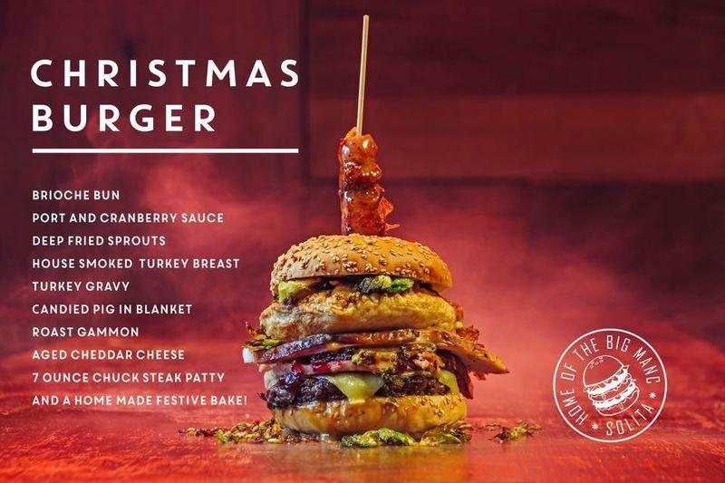 Christmas Dinner Burgers