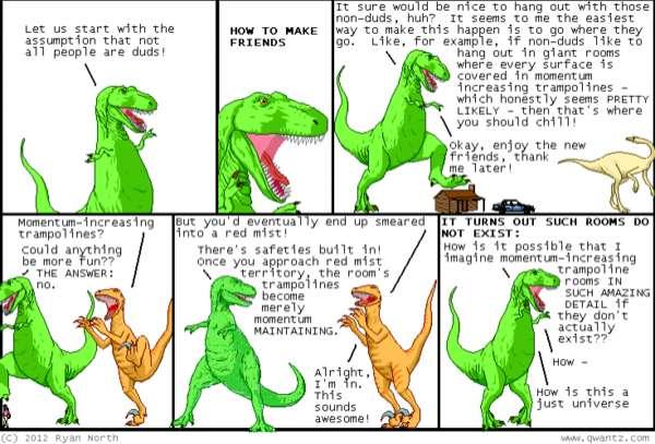 Talking T-Rex Blogs