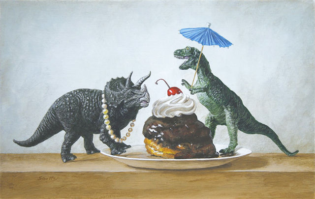 Dino Tea Party Posters