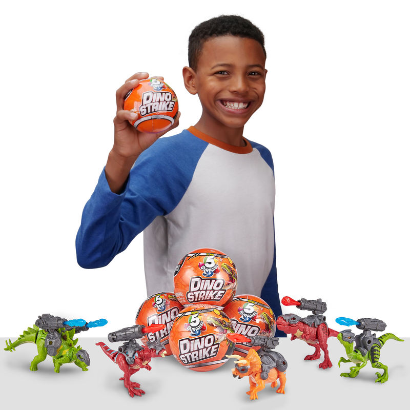 Collectible Dinosaur Capsules