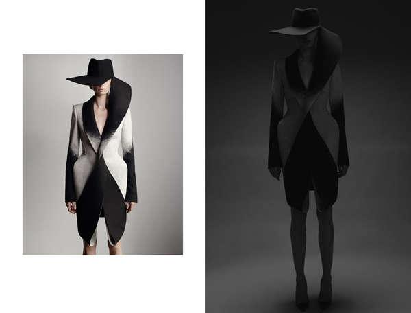 Sculptural Silhouette Fashion