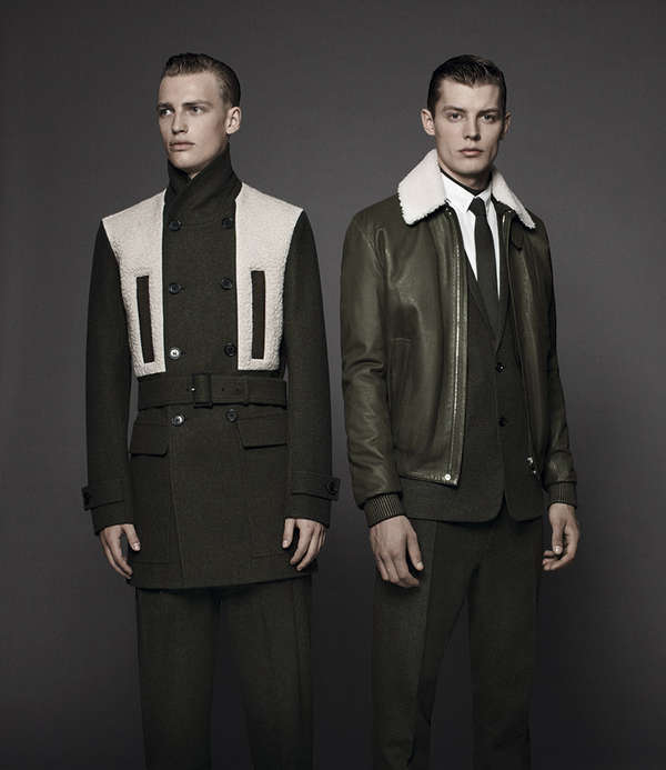 Minimalistic Military Couture