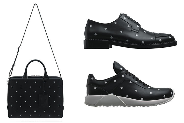 Polka Dot-Pattered Menswear