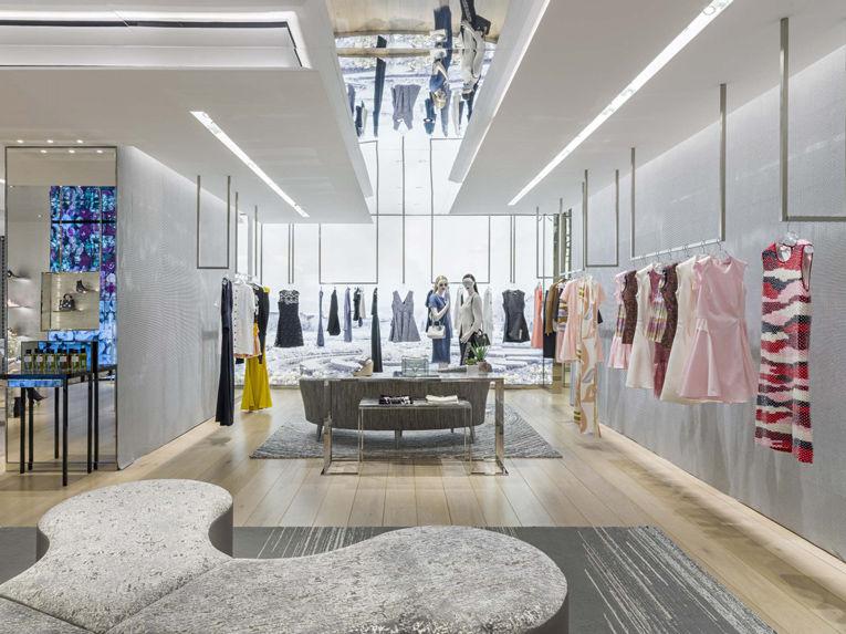 Upscale Galleria Boutiques Dior Mexico City