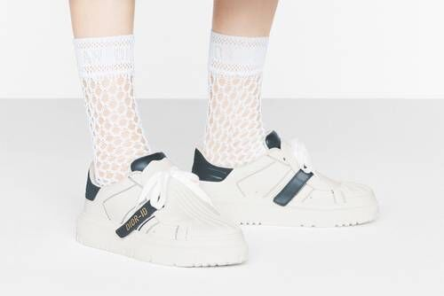 Luxe Calfskin Leather Sneakers