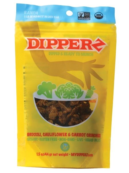 Dippable Dehydrated Vegetables