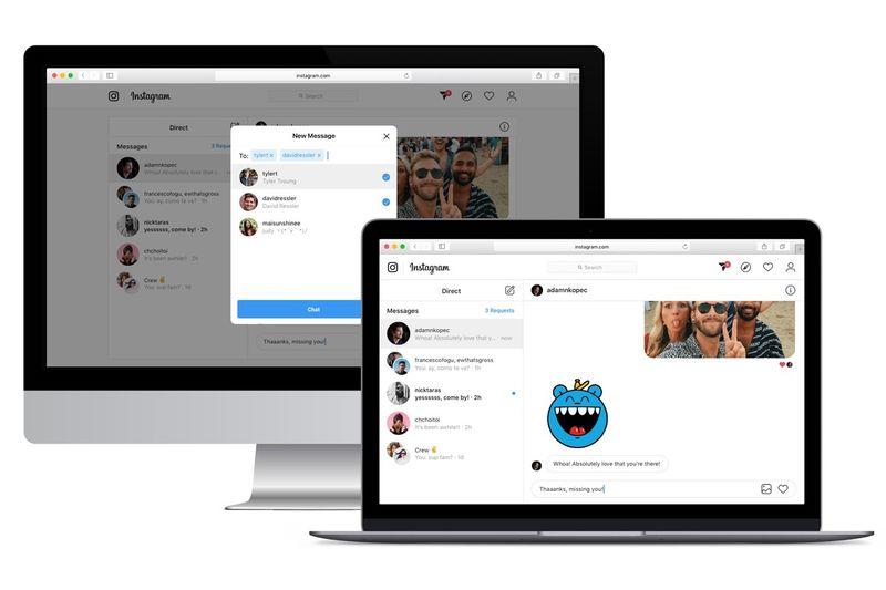 Desktop-Compatible Direct Messages