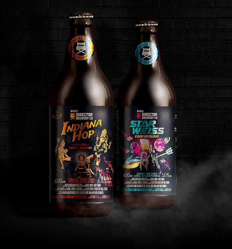 Filmic Beer Branding