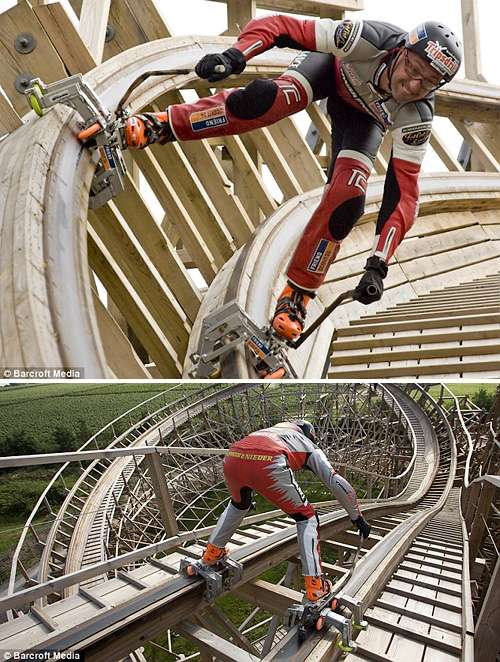 Roller Coaster Inline Skating