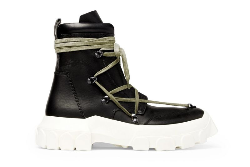 Luxurious Hiking-Inspired Boots