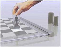 Disappearing Chess Pieces
