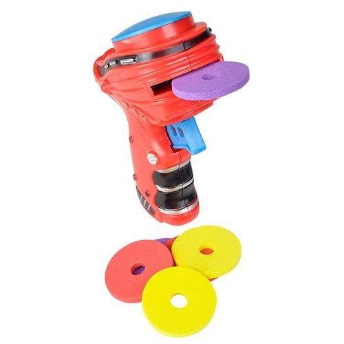 Disc-Launching Toy Guns