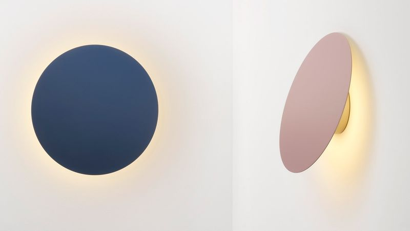 Disc-Shaped Wall Lamps