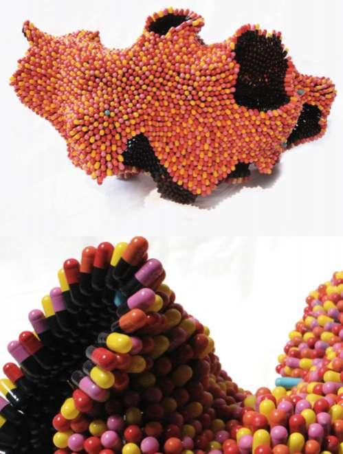 Abstract Pill Sculptures