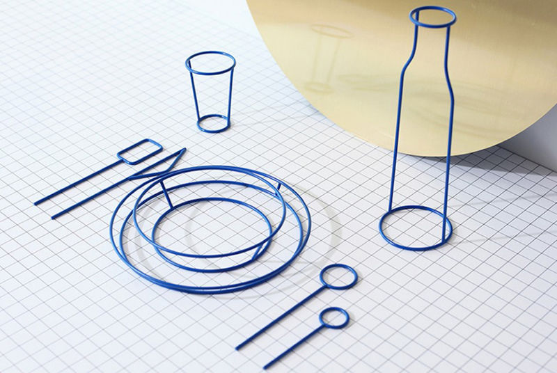 Wireframe Dishware Collections