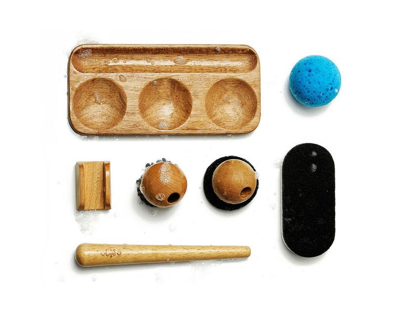 Wooden Dishwashing Kits