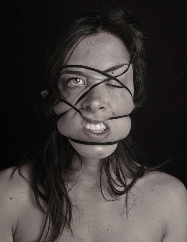 Distorting Elastic Portraits