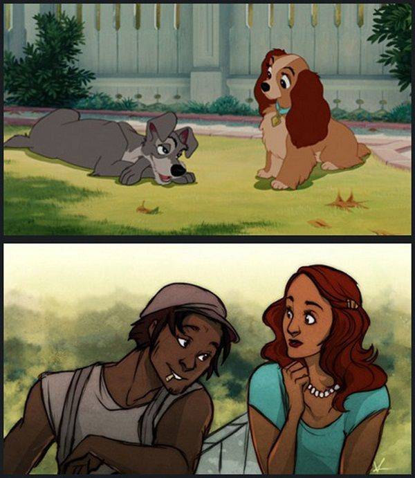 Humanized Disney Animals